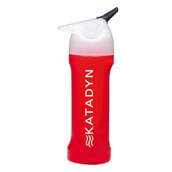 MYBOTTLE MICROFILTER BOTTLE - RED