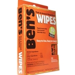 Ben's 30 Travel Size Wipes, Pack/12