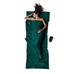 COCOON Travel Sheets Moss Green