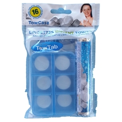 TowTab Classic Biodegradable Towel Tablet Storage Case